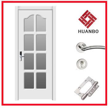 Puertas interiores de vidrio de madera para ba o puertas for Precio de puertas para interiores