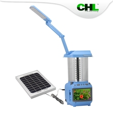 Portable CHL solar lantern plastic with table light