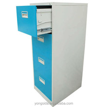 cold roll steel cabinet modern design office furniture 4 layers metal locker