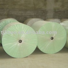 Green Polyester felt for bitumen roofing felt