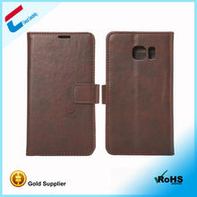 Mobile phone Accessories leather flip pu cover case for samsung galaxy e7 with auto sleep