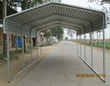 metal shed as carport/ steel car shelter with high strength
