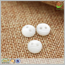 oeko-tex 100 round resin clear buttons for shirts