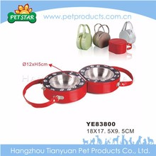 Advertising luxury high quality pet water bowl