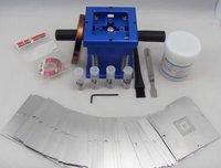 Zhuomao best combination for bga accessories, reballing station+bga stencils+solder paste+solder balls, reballing kit/bga tools