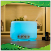 New design flower fragrance diffuser with light