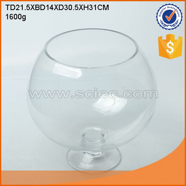 how to clean a round fish bowl