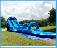High-quality Outdoor Toy, Inflatable Water Slide