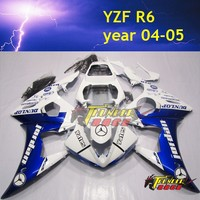HOT sell High Quality ABS Injection Motorcycle Fairing kit for YAMAHA YZF R6 04 05
