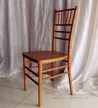 Stackable Wooden Wedding Chiavari Chair