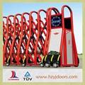 Modelos portões de ferro porta de entrada de alumínio elétrica portão dobrável