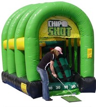 Outdoor inflatable golf Shooting inflatable sports game for sale