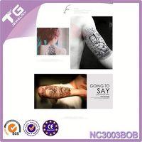 Halloween Horrible Tatoo Stickers,Temporary Tattoo Arm Sleeves,Temporary Tattoo Sticker For Hand