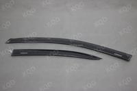 Injection Moulding Black car side door window visor of Yaris accessories window vent visor/Rain shade/sun guard for TOYOTA YARIS
