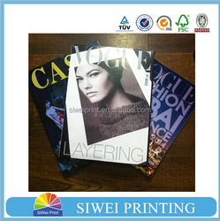 Printing magazine with fast delivery time&reasonable price