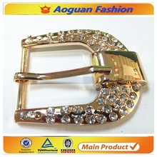 2017 metal buckle hardware for lady fashion belt or shoes