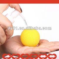 Soft bath gel ball