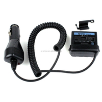 12V Car charger Eliminator Adaptor For Radio BF-5180/5118A KG-5118 KYD-TK6188 HD-5118 EB-5118 Walkie talkie
