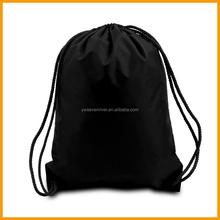 210D Polyester Plain Custom Design Your Own Drawstring Backpack