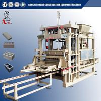 QT5-20 high efficiency interlock bricks machine for paving block