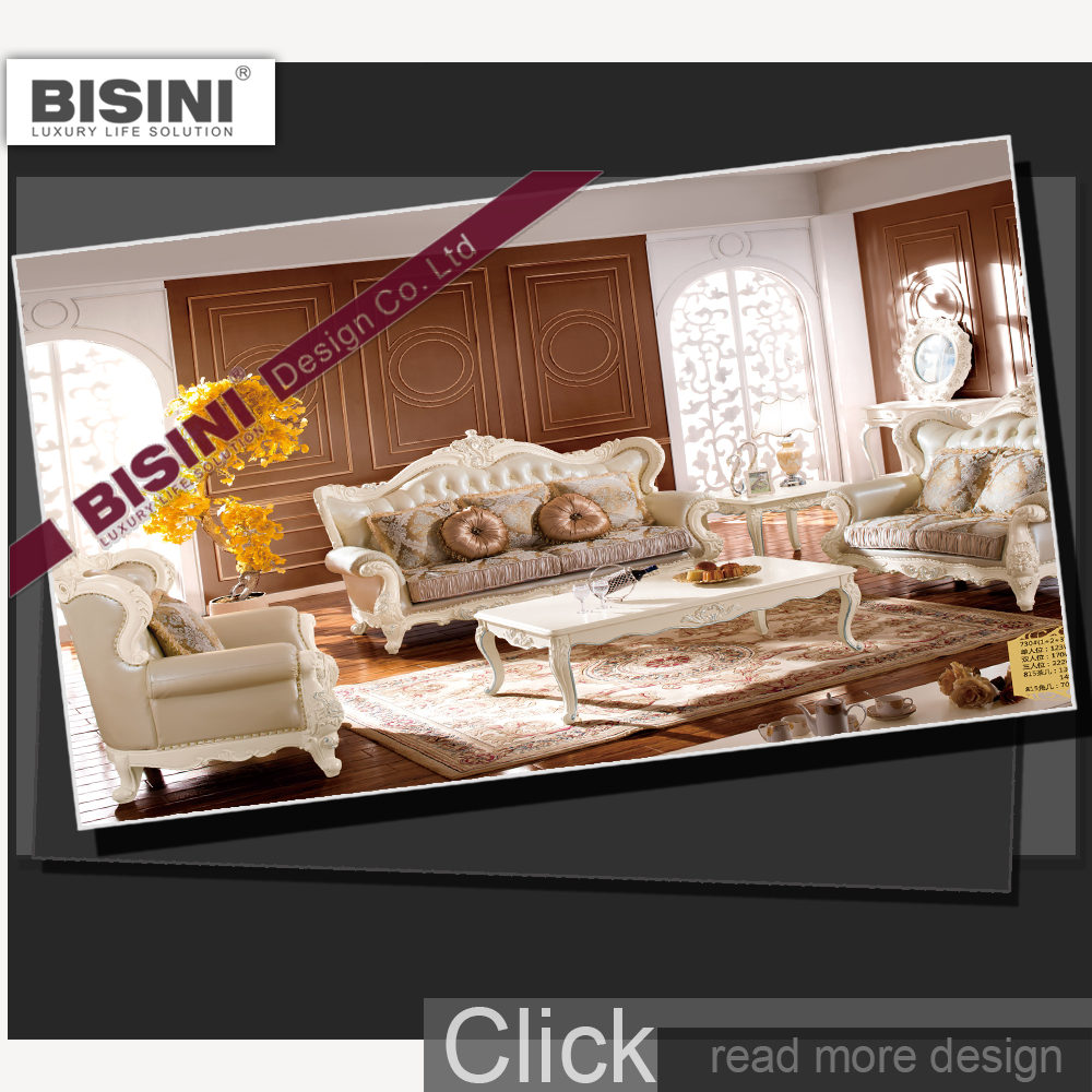 High quality living room french style furniture set sofa for Quality living room sets