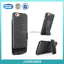 New arrival hot selling plastic holster combo case for iphone 6s wholesale alibaba