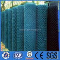 Hengxin galvanized hexagonal wire mesh/ rabbit wire / PVC coated chicken fence