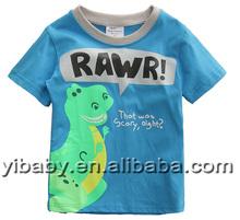 2015 Child clothing tshirts designs short sleeve o-neck boys summer top kids t shirts