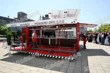 updated design prefab mobile container house,container store,prefabricated container coffee shop