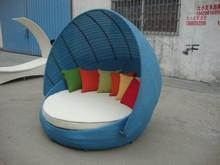 China outdoor rattan sofa beds set