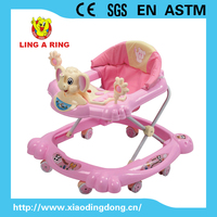 popular and hot sale elephant baby walker with music and light