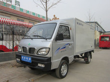 Electric delivery truck and van