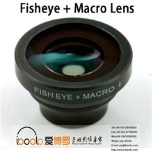 180 degree fish eye +macro lenses for mobile phones