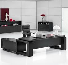 2015 Germany Market Natural Oak Veneer MDF Executive Office Desk