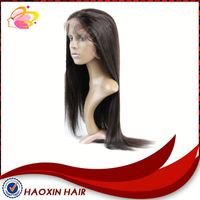 Factory Price Yaki Straight Full Lace Wigs With Baby Hair
