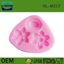 Diamond shaped 3D fondant silicone mould for cake decorating supplies