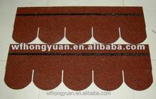 colorful asphalt shingles with fiberglass reinforced (bitumen roofing felt shingles)