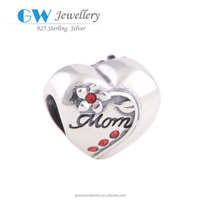 Mother's Day Gift Charms Handcrafted Silver Jewelry