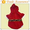 Wholesale dog christmas costumes/Christmas wholesale velvet pet costumes