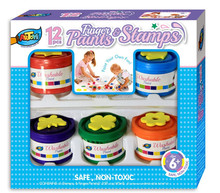 6ct*40ml Finger Paint EVA Set School Supply Kid Arts and Crafts Box Packing