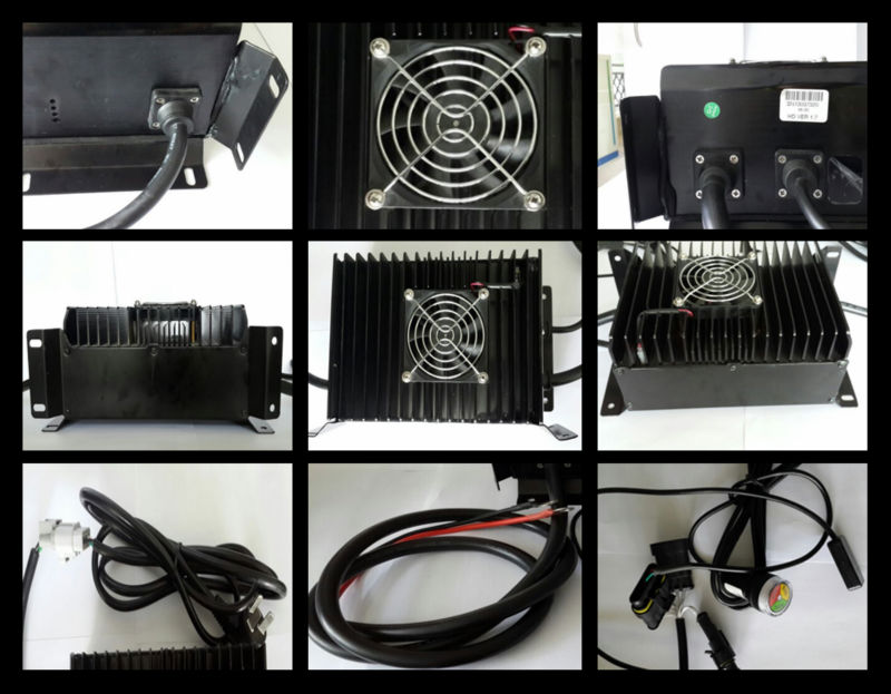 Rechargeable car battery charging machine