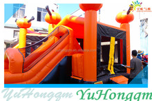 2014 China Factory Wholesale Cheap Halloween Pumpkin Inflatable Bouncer/ Bounce House and Bouncy Castle for Sale