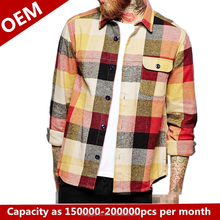 River Hose Road new model international branded mens casual shirts slim fit latest flannel mens shirts design for men