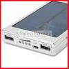 5000mAh Solar Power bank w/ Dual USB for iPhone