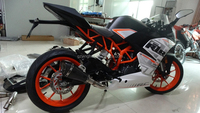KTM390 Motorcycle Complete Exhaust System