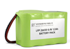 LFP 26650 2S4P 6.4V 12Ah LiFePo4 rechargeable battery pack
