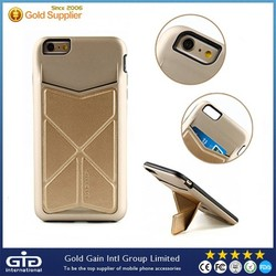 Mobile Phone Accessories for iPhone 6 Case with Stand and Card Slot