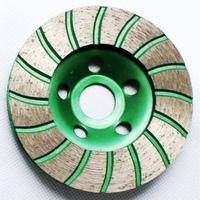 High quality 100mm turbo diamond grinding wheels for granite