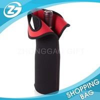 Customized Single Bottle Quality Strong Neoprene Bottle Wine Carrier Bag Wholesale