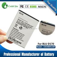 Cell phone Batteries C654804130T 1300mAh Battery for BLU DASH 3.5 D170